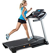 Cardio on a NordicTrack Treadmill
